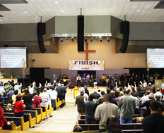 KS Audio Speaker Installation Victory Fellowship Church in New Orleans Louisiana