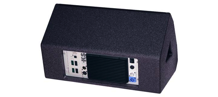 KS Audio Live/PA CPD12M Powered Floor Monitor Back