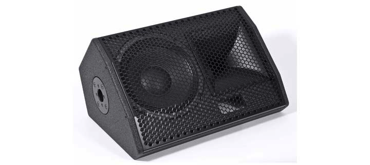 KS Audio Live/PA CPD1M Powered Floor Monitor Open