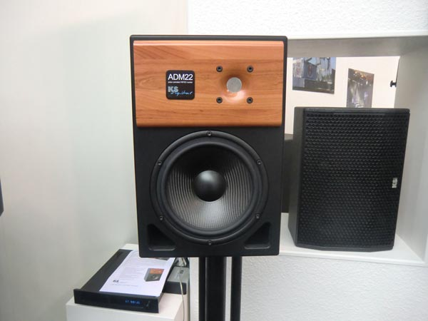 KS Digital ADM22 Studio Monitor released at the 2011 Frankfurt Musikmesse
