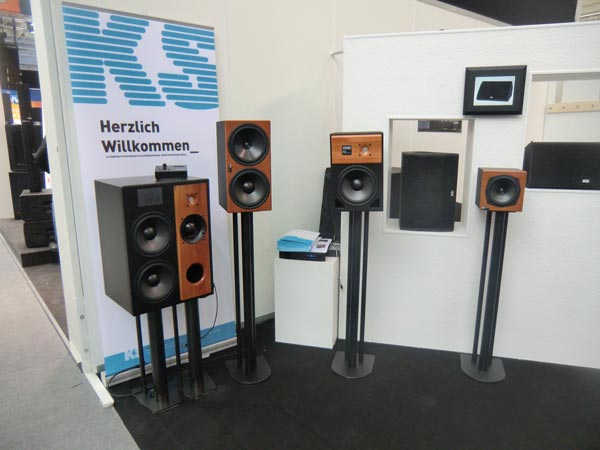 KS Digital studio monitor booth at 2011 Frankfurt Musikmesse