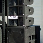 KS Audio C Line Array system with CPD WL subwoofer