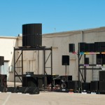 KS Audio's live PA speaker sound systems demo