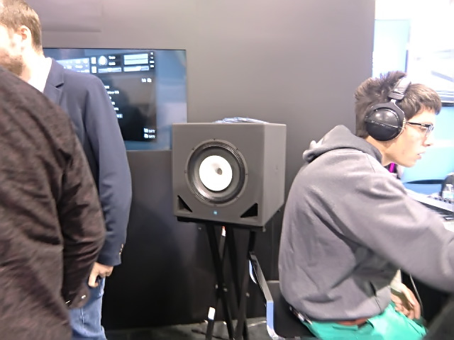 Orchestral Tools sample libraries used KS CX-Coaxial at their booth