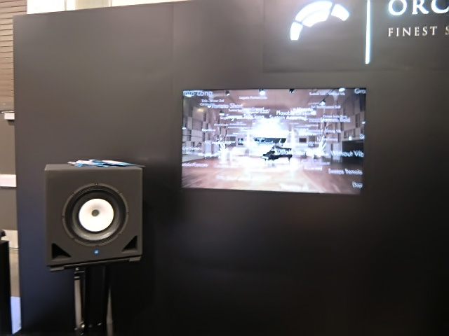 KS CX-Coaxial on display with Orchestral Tools at NAMM 2015