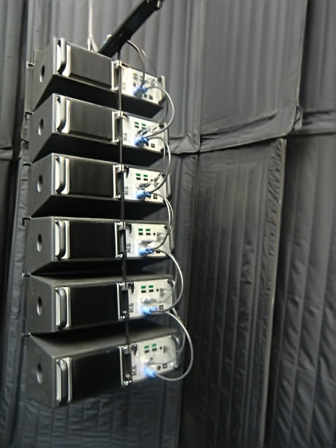 KS Audio 2015 Musikmesse AutoCurve Line Array