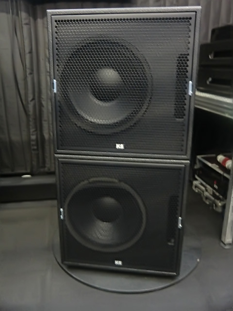 KS Audio PWK Subwoofers at 2015 Musikmesse booth