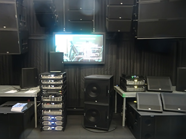 Big speaker section at KS Audio 2015 Musikmesse booth