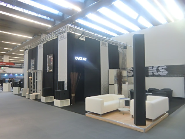 The KS Audio Musikmesse 2015 booth
