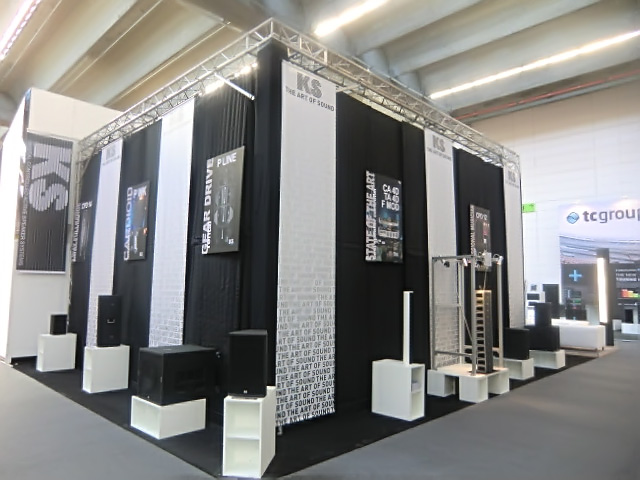 Ks Audio Live Pa 2015 Musikmesse Booth New Products Ks
