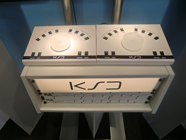 KS Digital Musikmesse 2015 Montreux monitor controllers with rack